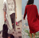 Plus Size Coat Women's Long Cardigan Sweater