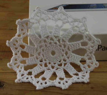 100% Cotton Round Crochet Doily