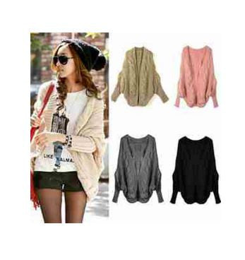 Batwing Style Casual Sweater