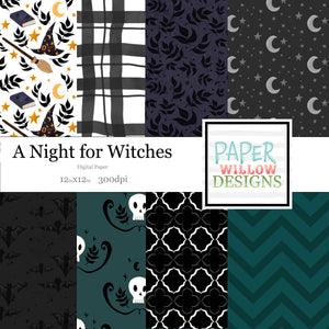 A Night for Witches-Digital Paper