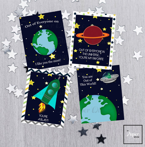 Out of this World-Valentine Cards