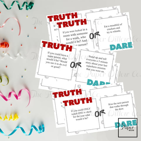 Traditional-Truth or Dare