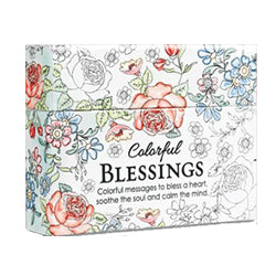 Coloring Cards / Colorful Blessings