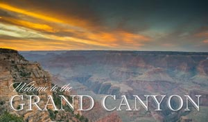 Welcome to the Grand Canyon