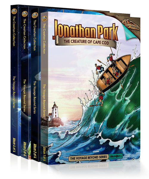 The Voyage Beyond Series Pack - 4-Disc Series Pack