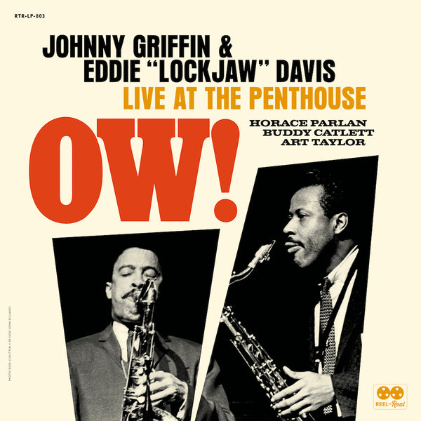 "JOHNNY GRIFFIN / EDDIE ""LOCKJAW"" DAVIS QUINTET - Ow! Live at The Penthouse"