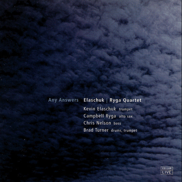 ELASCHUK / RYGA QUARTET - Any Answers