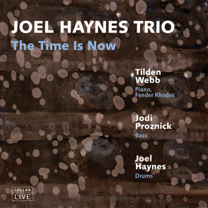 Newly Added: JOEL HAYNES TRIO - The Time Is Now
