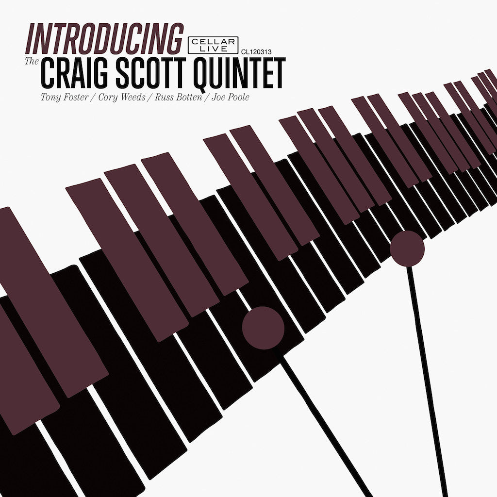 CRAIG SCOTT QUINTET - Introducing