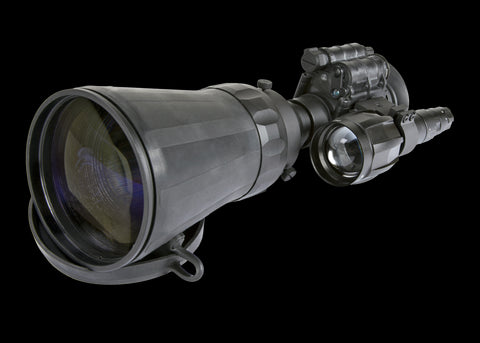 Armasight Avenger 10X Ghost MG Long Range Night Vision Monocular Gen 3 Ghost White Phosphor with XLR-IR850 Illuminator and Manual Gain - Armasight - Dropship Direct Wholesale - 2