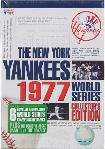 1977 NY Yankees WS Collectors Edition DVD