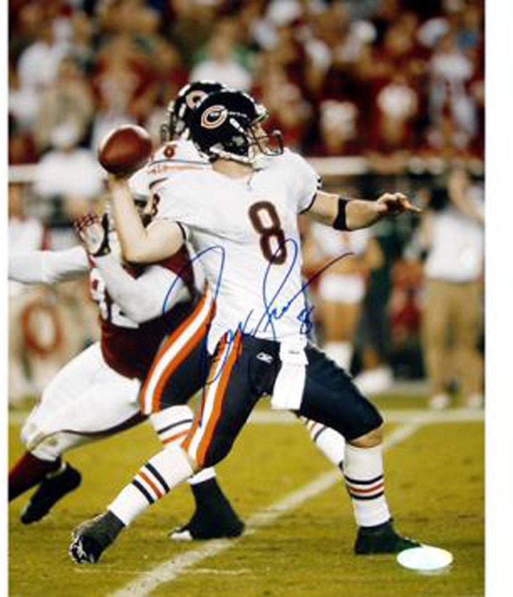 Rex Grossman Throw Versus Arizona 8x10 Photograph