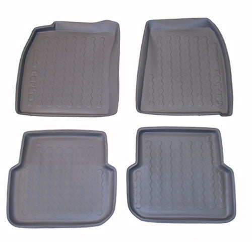 2004-2007 Audi A6 Avant Carbox 4 Pc Floor Tray Set - Beige - Carbox - Dropship Direct Wholesale