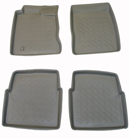 2000-2007 Chrysler PT Cruiser Carbox 4 Pc Floor Tray Set - Black - Carbox - Dropship Direct Wholesale