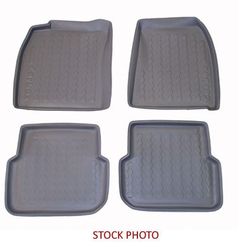 2001-2007 Nissan X-Trail 4-pc Floor Tray Set - Grey - Carbox - Dropship Direct Wholesale