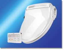 Supreme Bidet Seat with Wireless Remote White - Round - BioBidet - Dropship Direct Wholesale