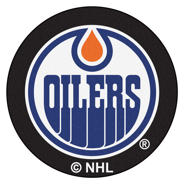 Edmonton Oilers Puck Mat - FANMATS - Dropship Direct Wholesale