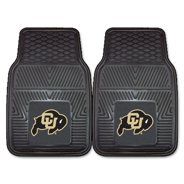 University of Colorado 2-pc Vinyl Car Mat Set - FANMATS - Dropship Direct Wholesale