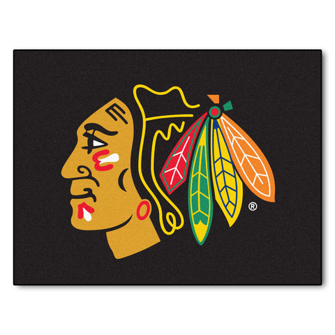 Chicago Blackhawks All-Star Mat 33.75x42.5 - FANMATS - Dropship Direct Wholesale