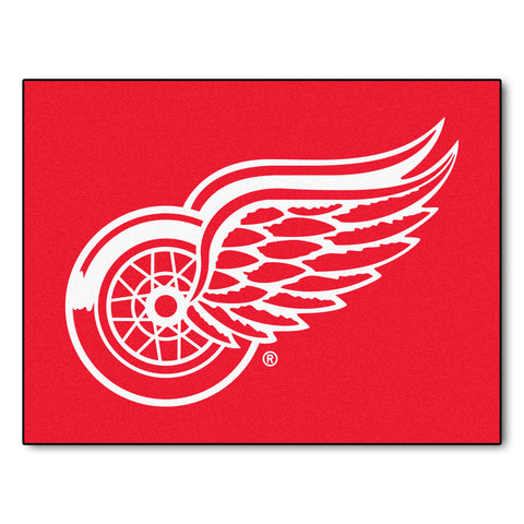 Detroit Red Wings All-Star Mat 33.75x42.5 - FANMATS - Dropship Direct Wholesale