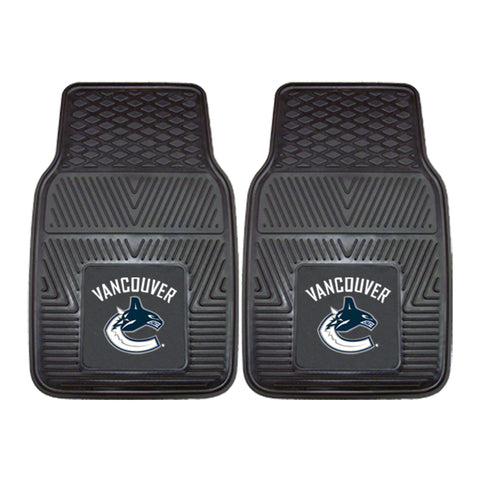 Vancouver Canucks 2-pc Vinyl Car Mat Set - FANMATS - Dropship Direct Wholesale