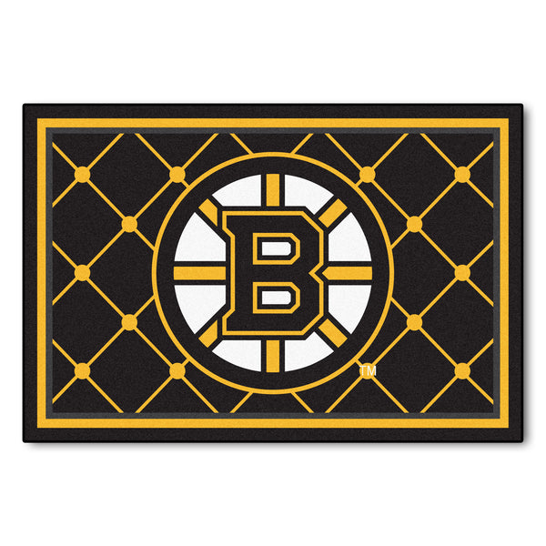 Boston Bruins Rug 5x8 - FANMATS - Dropship Direct Wholesale