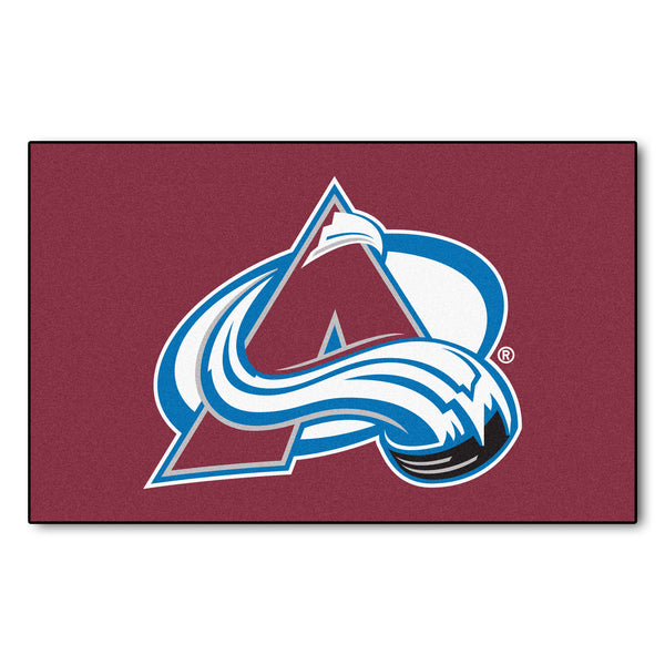 Colorado Avalanche Ulti-Mat 5x8 - FANMATS - Dropship Direct Wholesale