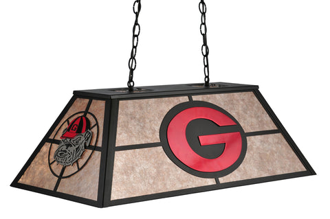 33 Inch L Personalized Georgia Bulldogs Oblong Pendant - Meyda - Dropship Direct Wholesale