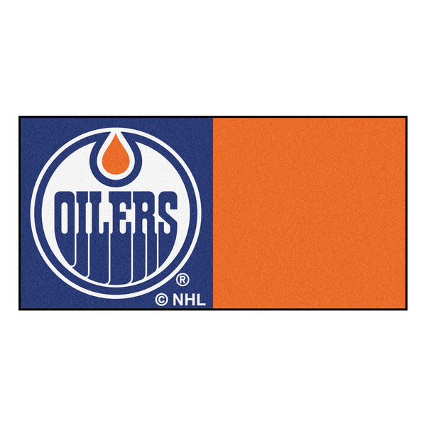 Edmonton Oilers Team Carpet Tiles - FANMATS - Dropship Direct Wholesale