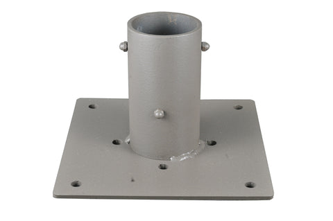10 Inch Sq X 6.5 Inch H Flange Post Mount - Meyda - Dropship Direct Wholesale