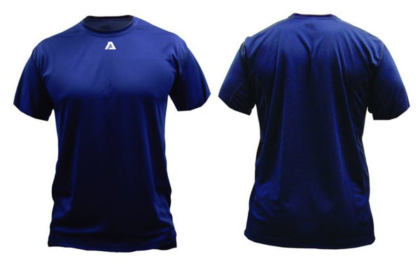 Akadema Compression Wear Short Sleeve Shirt Royal XXX-Large - Akadema - Dropship Direct Wholesale