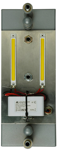 10 Inch H X 4 Inch W X 3.75 Inch D 10 Watt Led Backplate - Meyda - Dropship Direct Wholesale