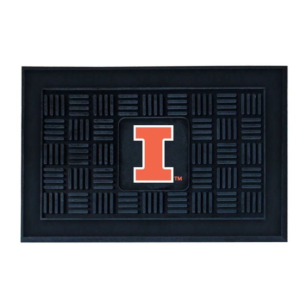 University of Illinois Medallion Door Mat - FANMATS - Dropship Direct Wholesale