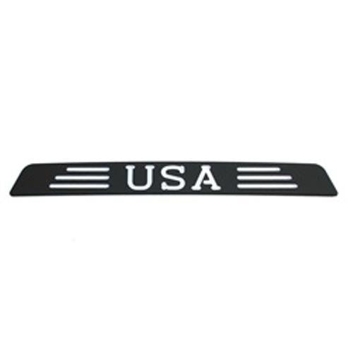 All Sales USA 3rd Brake Light Cover- Black Powdercoat - AMI - Dropship Direct Wholesale