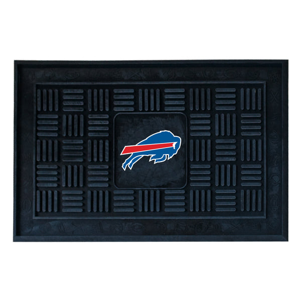 Buffalo Bills Medallion Door Mat - FANMATS - Dropship Direct Wholesale