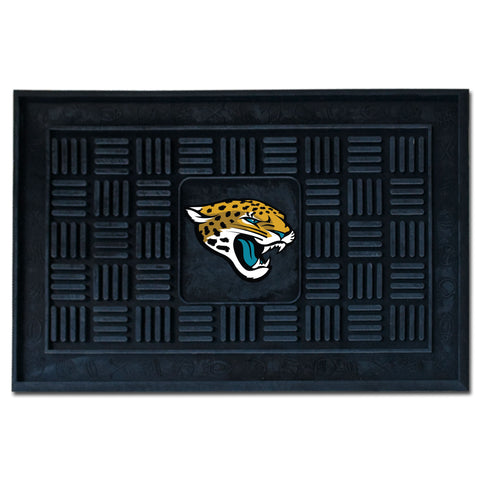 Jacksonville Jaguars Medallion Door Mat - FANMATS - Dropship Direct Wholesale