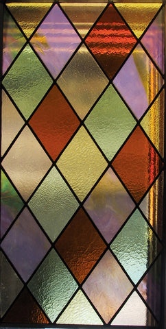 11.25 Inch W X 41.5 Inch H Tudor Stained Glass Window - Meyda - Dropship Direct Wholesale