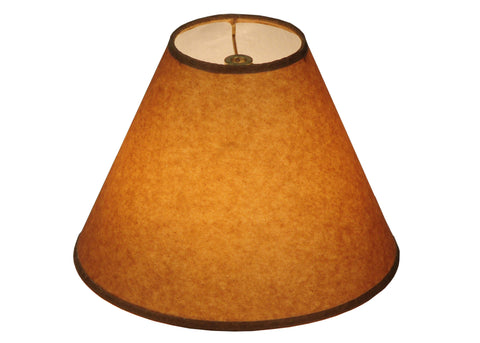 10 Inch W X 7 Inch H Taos Brown Parchment Shade - Meyda - Dropship Direct Wholesale