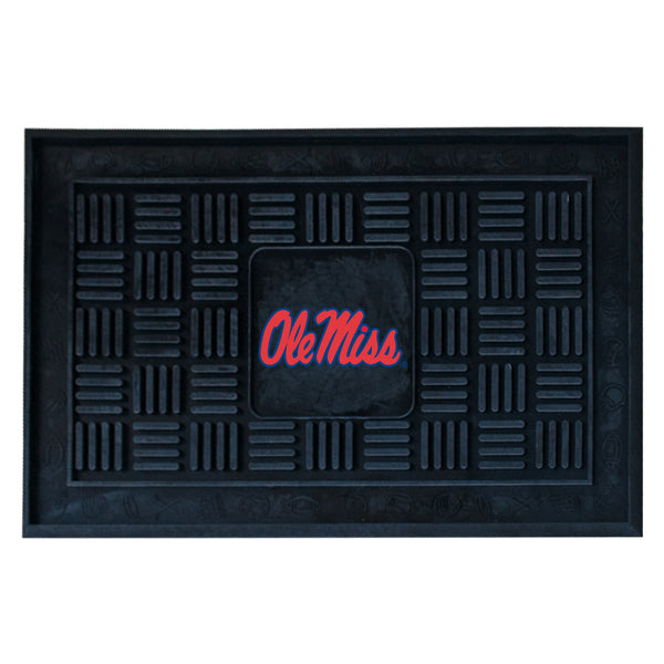 University of Mississippi Medallion Door Mat - FANMATS - Dropship Direct Wholesale