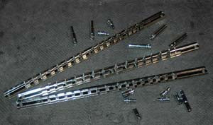 3 Pc. Socket Rail Set - ATD Tools - Dropship Direct Wholesale