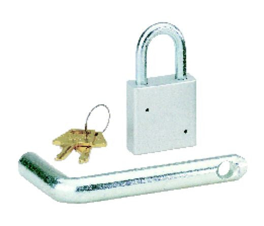 2 Inch Plain Padlock W 2 Inch Receiver Tow Pin - DefenderWorx - Dropship Direct Wholesale