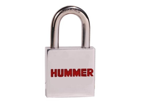 Engraved Hummer Padlock - Red - DefenderWorx - Dropship Direct Wholesale