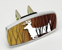 HitchMate Premier Series Hitch Cap Buck Silhouette - HitchMate - Dropship Direct Wholesale