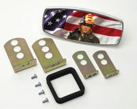 HitchMate Premier Series Hitch Cap Flag and Fireman - HitchMate - Dropship Direct Wholesale