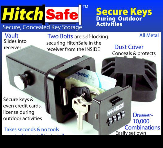 HitchSafe Receiver Vault - FJM Security - Dropship Direct Wholesale