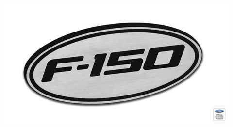 2009-13 Ford F-150 Two Tone Hitch Plug Brushed Finish - DefenderWorx - Dropship Direct Wholesale