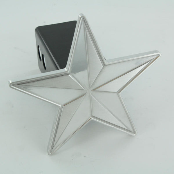 All Sales Nautical Star Hitch Cover- Polished - AMI - Dropship Direct Wholesale