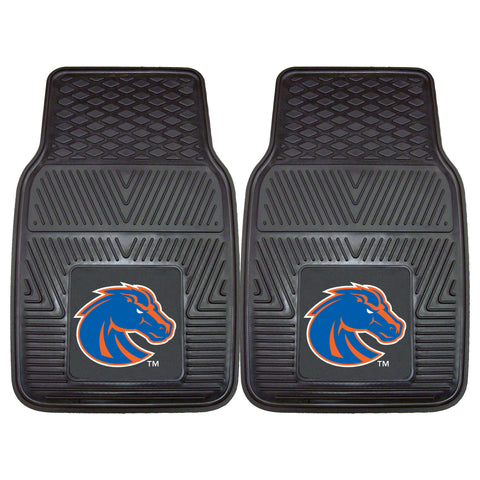 Boise State Heavy Duty 2-Piece Vinyl Car Mats 17x27 - FANMATS - Dropship Direct Wholesale