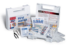 25 Person- 106 piece bulk kit- plastic case w/ dividers- 1 ea. - First Aid Only - Dropship Direct Wholesale