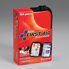 104 Piece auto kit- medium softsided case- 1 ea. - First Aid Only - Dropship Direct Wholesale